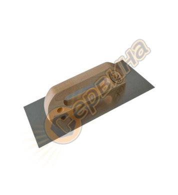 Маламашка гладка 120х280мм Schabert черна дръжка DE85716