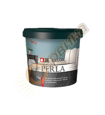 Полупрозрачна гелна маса - бяла JUB Decor Perla J035 - 1кг
