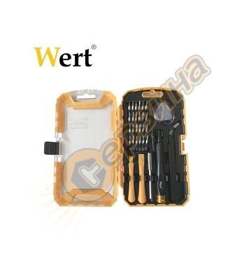 Комплект отвертки за електроника WERT W2258