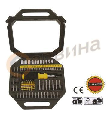 Комплект тресчота ръкохватка с накрайници Wert W2253 - 101ча