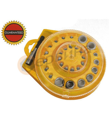 Комплект накрайници за отвертка 30бр. WERT - W2246