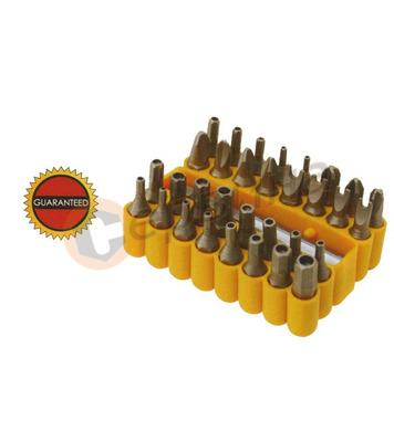 Комплект накрайници за отвертки 33бр. WERT W2233