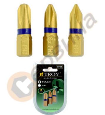 Комплект накрайници за отвертка TROY - T22262