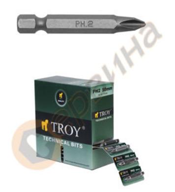 Накрайник PH2-50мм TROY T22256
