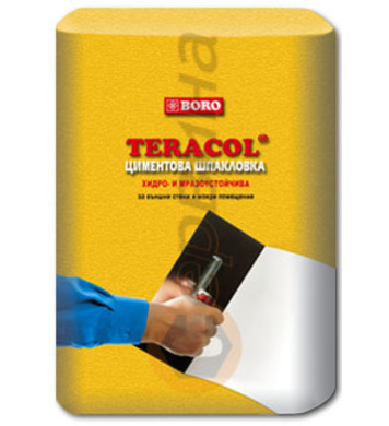 Теракол Бяла циментова шпакловка 25кг.
