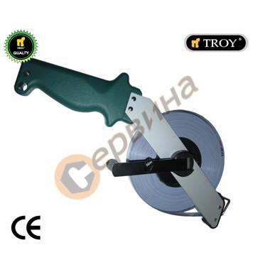 Рулетка-ролетка с алуминиево тяло 50метра Troy T23155