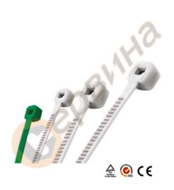 Връзки за кабели 3,6х300мм WERT - W2404