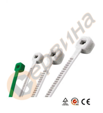 Връзки за кабели 7,6х300мм WERT - W2408