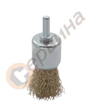 Телена четка тип химикал 17мм TROY - T27701-17
