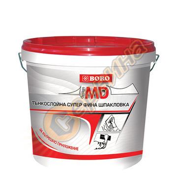 MD Боро 1,6кг.- тънкослойна фина шпакловка