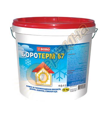 Лепило за изолационни плоскости и тапети Boro Боротрем 67 24