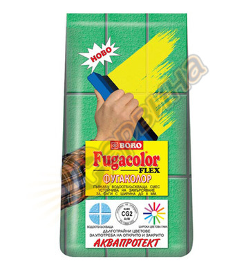 Фугираща смес - цвят Червен Boro Фугаколор Flex 2900535 - 1к