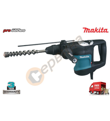 Електронен перфоратор Makita HR3540C - 850W SDS-Max 5.6J