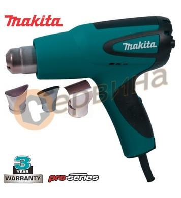 Пистолет за горещ въздух 1600W Makita HG5012K