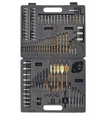 Комплект свредла и накрайници за отвертки Mannesmann M29815