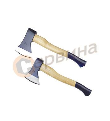 Брадва с дървена ръкохватка 0.8кг Mannesmann M704-800