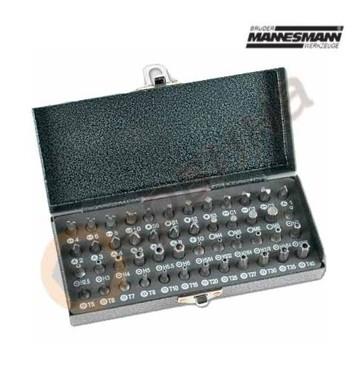 Комплект накрайници за отвертка Mannesmann M29832