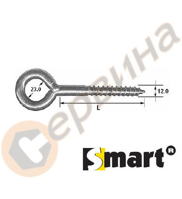 Анкерираща кука за скеле Smart 12х350мм SM12350Z