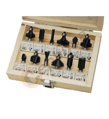 Комплект накрайници за оберфреза(фрези) 12бр ф8мм Mannesmann