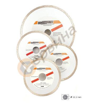 Диамантен диск за керамика ф110 Mannesmann M1244-110