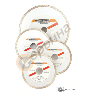 Диамантен диск за керамика ф125 Mannesmann M1244-125