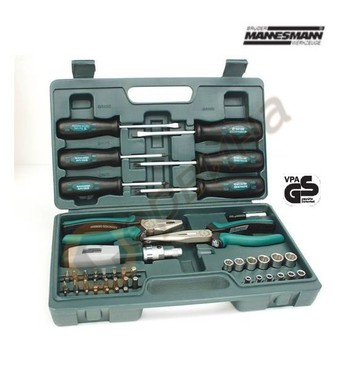 Комплект професионални инструменти Mannesmann M29110 - 45час