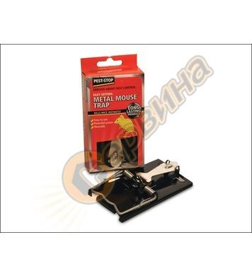 Метален капан за мишки Pest Stop K-3002-10 - убиващ