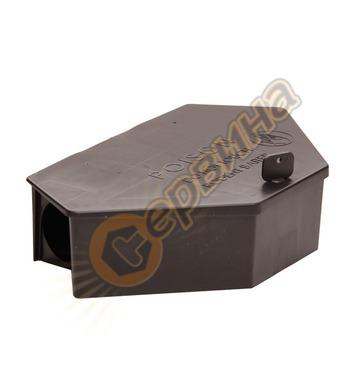 Дератизационна кутия Plastdiversity P-06-901 с ключ ЗЕТА, за
