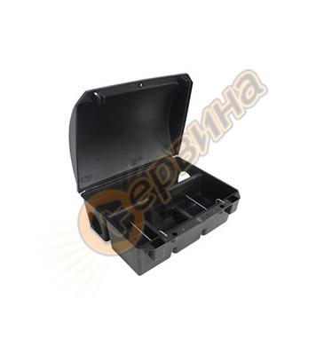 Дератизационна кутия с ключ, за поставяне на отрови Plastdiv