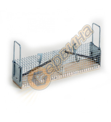 Капан за мишки с 2 отвора - метална клетка 5041-917