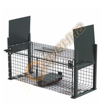 Капан за плъхове и други едри гризачи с 2 отвора - метална к