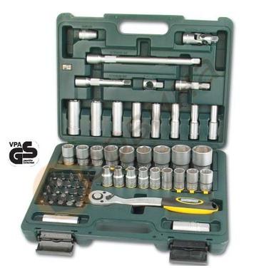 Комплект тресчотка с вложки 1/2 60бр. Mannesmann M2050-SL