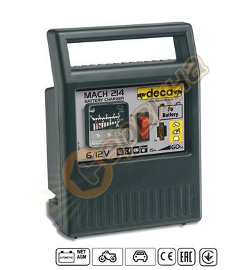 Зарядно за акумулатор Deca MACH214 302200 - 12V/6V