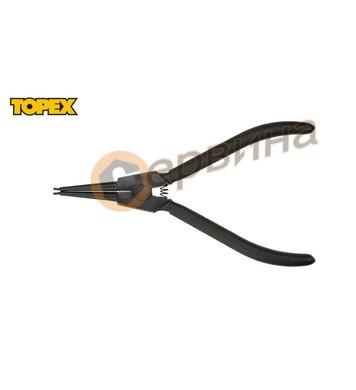 Клещи зегер Topex 175мм.- криви отварящи 32D307