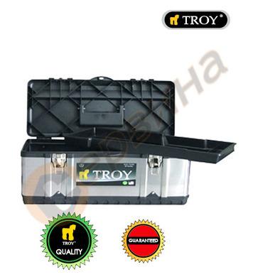 Метален куфар за инструменти Troy T91016 - 16