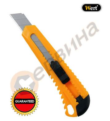 Макетен нож пластмасов Wert W2169 - 100х18мм