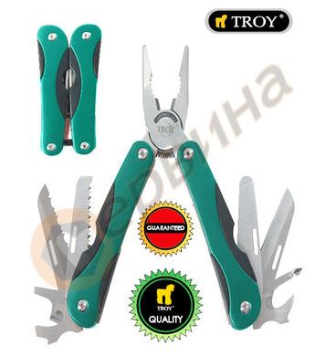 Комплект джобни инструменти 11 в 1 TROY T21092