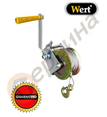 Ръчна лебедка 1тон WERT W2628