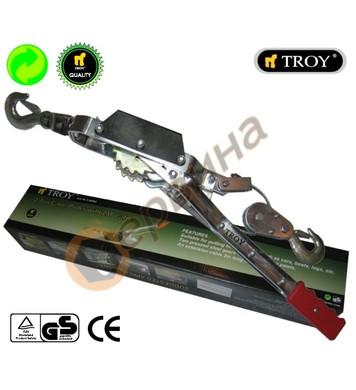 Лебедка с въже 2000кг Troy T26002 - 2метра въже
