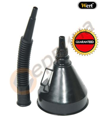 Пластмасова фуния ф140мм WERT W2656