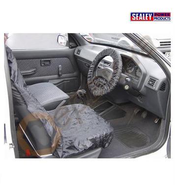 Предпазен калъф за кормило и седалки SEALEY CSC3