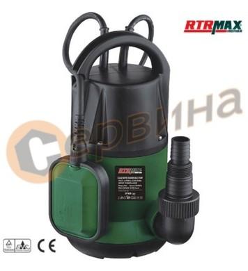 Помпа потопяема за чиста вода 400W RTRMaX RTM814