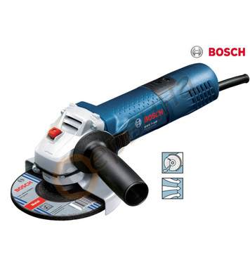 Ъглошлайф Bosch GWS 7-125 0601388108 - 125мм