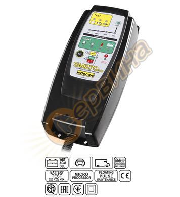 Зарядно за акумулатор инвертор Deca SM1270 Evo 12V/7A 301000