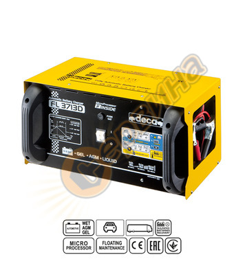 Зарядно за акумулатор Deca FL 3713D 319900 6-12-24V/37A - 30