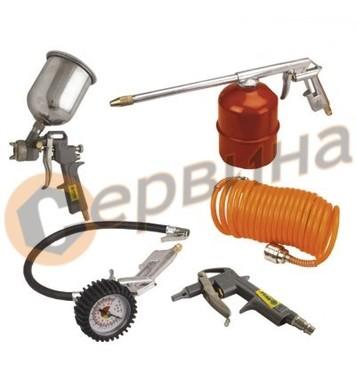 Комплект пневматични инструменти MTX - 5бр МТ573049
