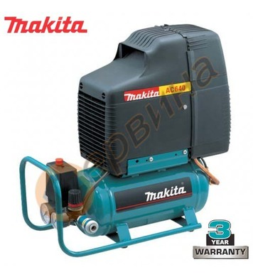 Пневматичен компресор Makita AC640 - 6л / 8бара 1.46kW