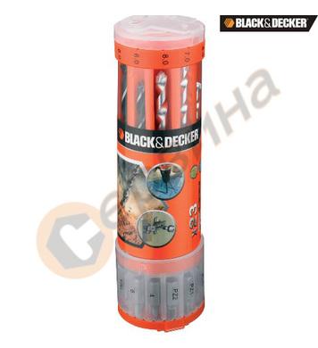 Комплект битове и свредла 23 части Black&Decker A7102
