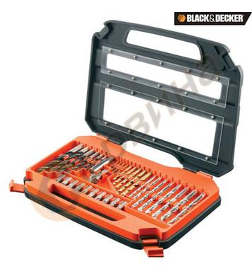 Комплект свредла 35 части Black&Decker A7152