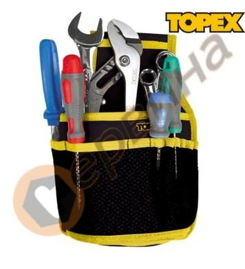 Калъф за инструменти 11 елемента Topex 79R430